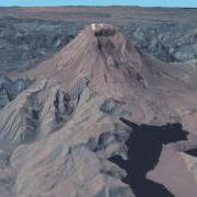 SRTM LandSat 7: Mt. St. Helens, Washington